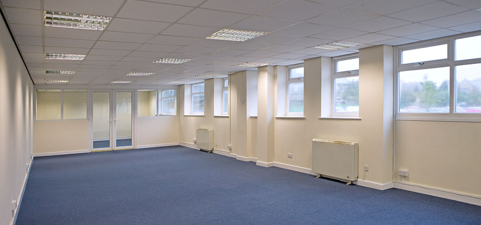 Commercial property refurbishment company in leeds for Office refurbishment