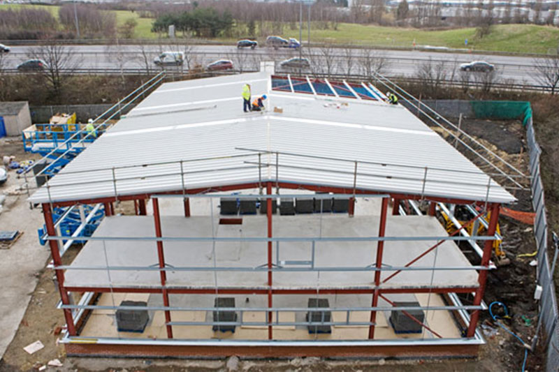 Industrial Roofing Amp Cladding Doncaster Cpr Roof Services