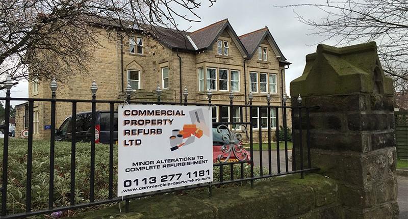 Commercial Property Refurbishment Hospital Project